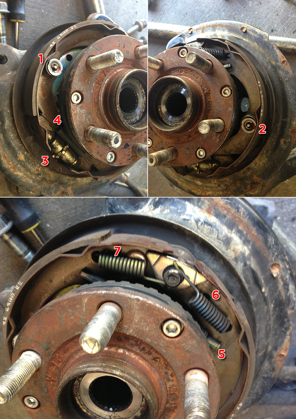 3 16 Brake Line >> DIY: Parking brake assembly rebuild - NASIOC